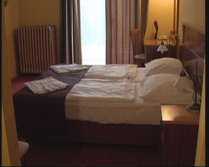 Telt ház a szállodákban