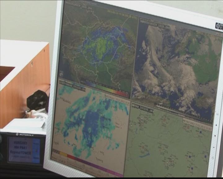 Meteorológia megfigyelő rendszer