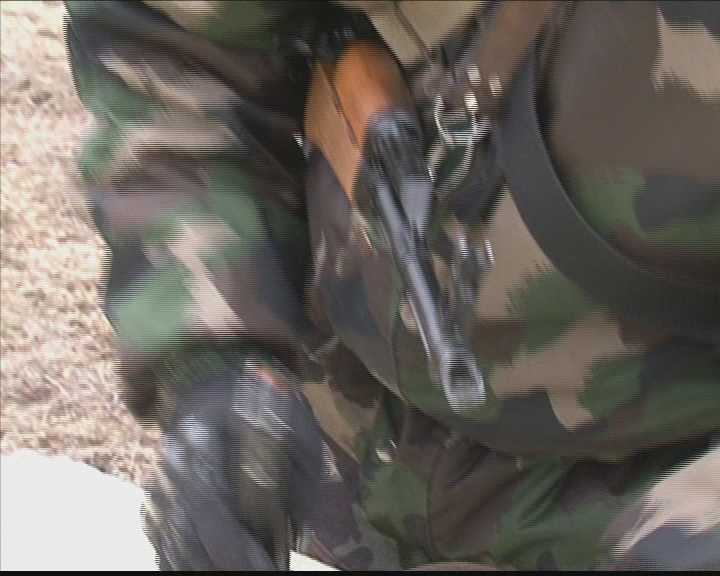 Misszióba induló katonák felkészítése