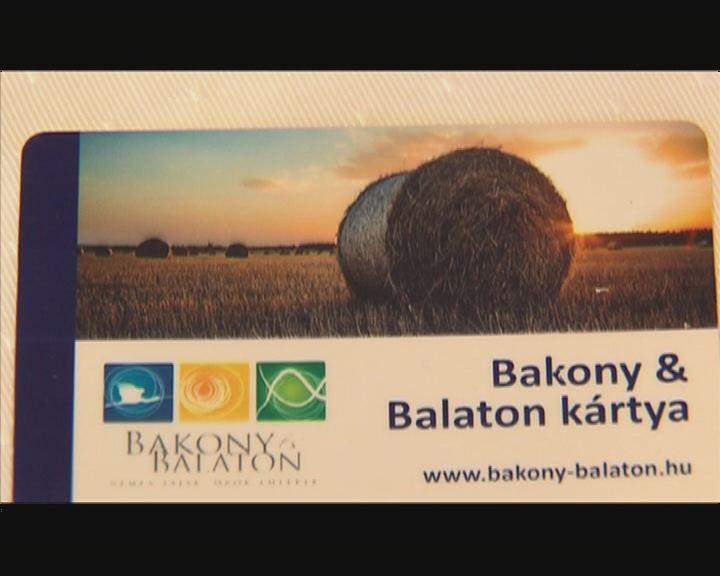 Bakony – Balaton kártya