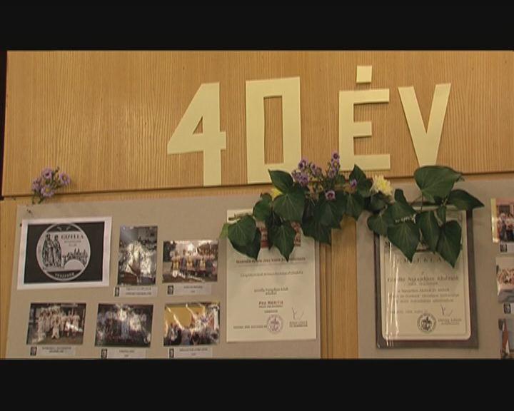 40 éves Gizella nyugdíjasklub