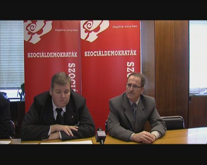 Szociáldemokrata jelöltek a megyében