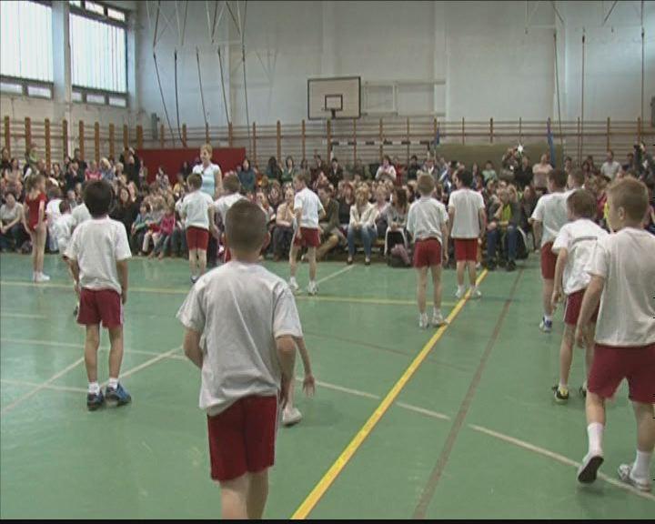 Sportünnepély a Báthoryban