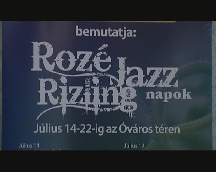 Indul a Rozé, Rizling és Jazz Napok