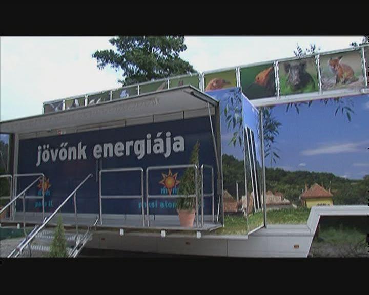 Jövőnk energiája- interaktív kamion