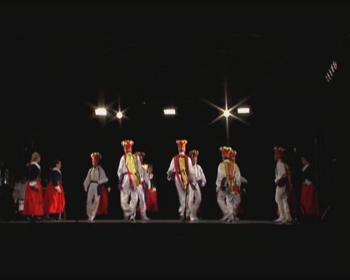 Nemzetközi folklór estek az Óváros téren