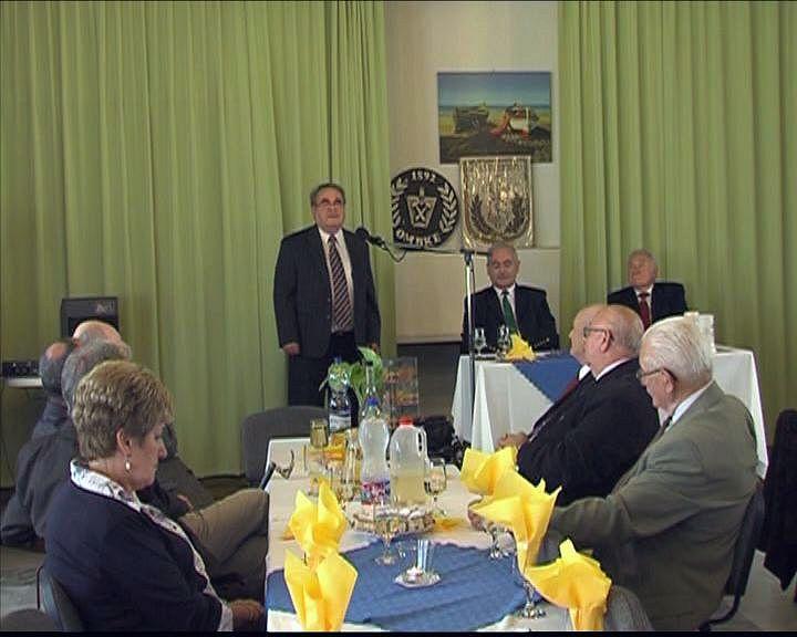 Bányásznapi ünnepséget tartott a veszprémi nyugdíjas bányász klub