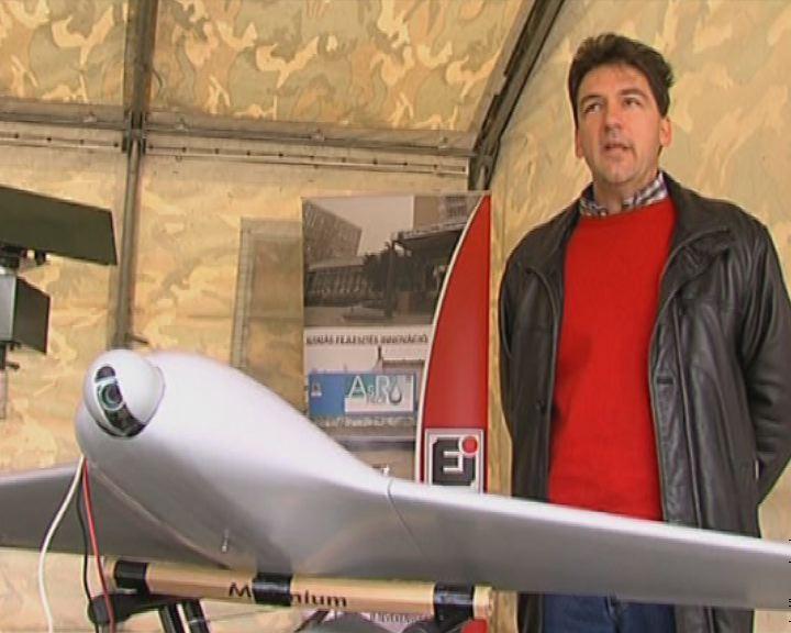 Drónok repültek Veszprém mellet