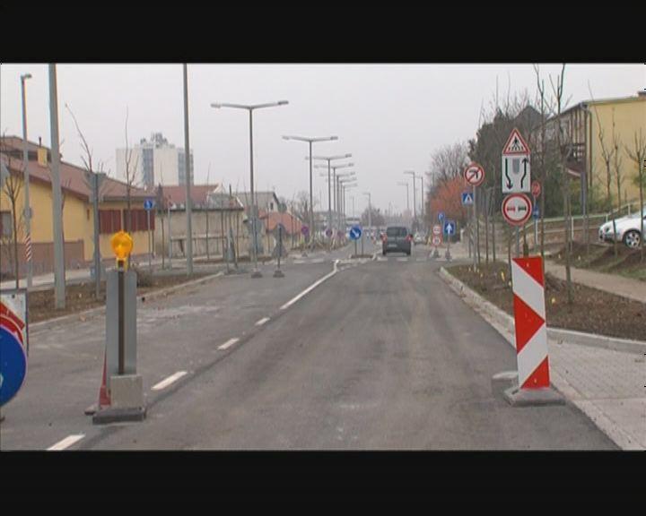 Új körforgalmak Veszprémben