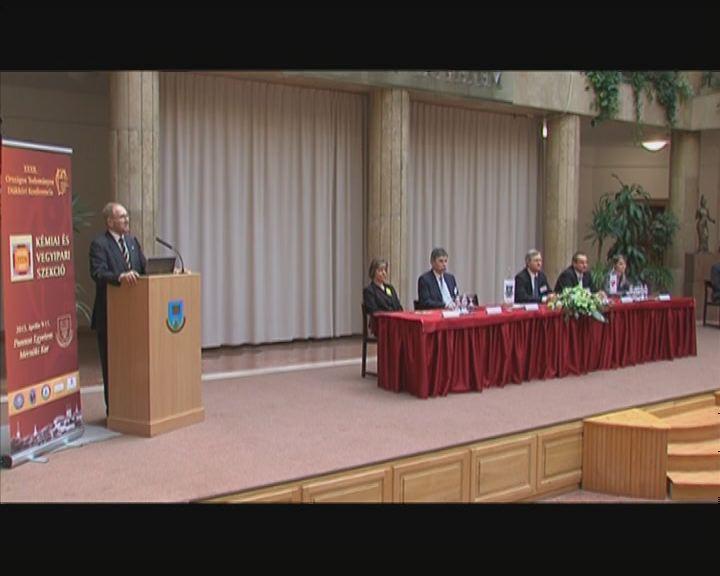 OTDK verseny a Pannon Egyetemen