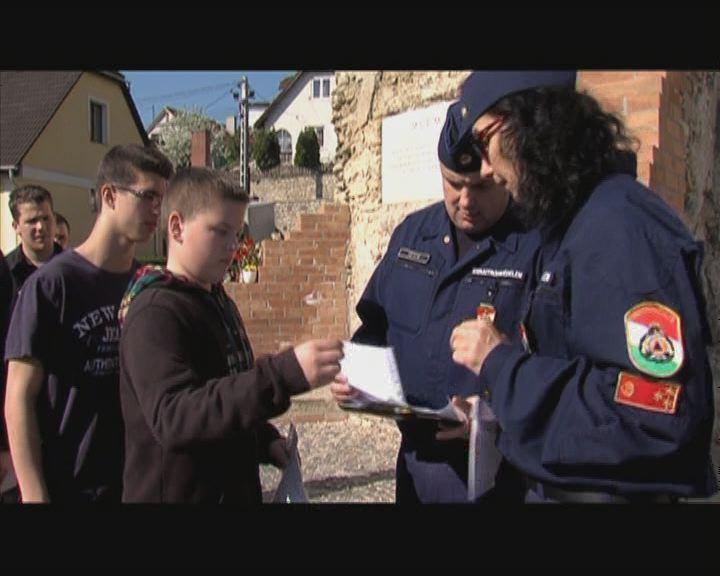 Fiatal katasztrófavédők versenye