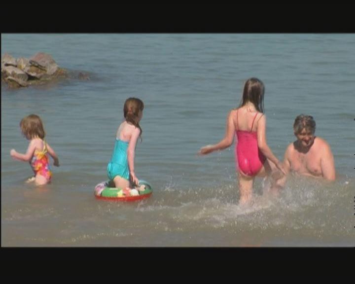Balatoni strandszezon nyitó