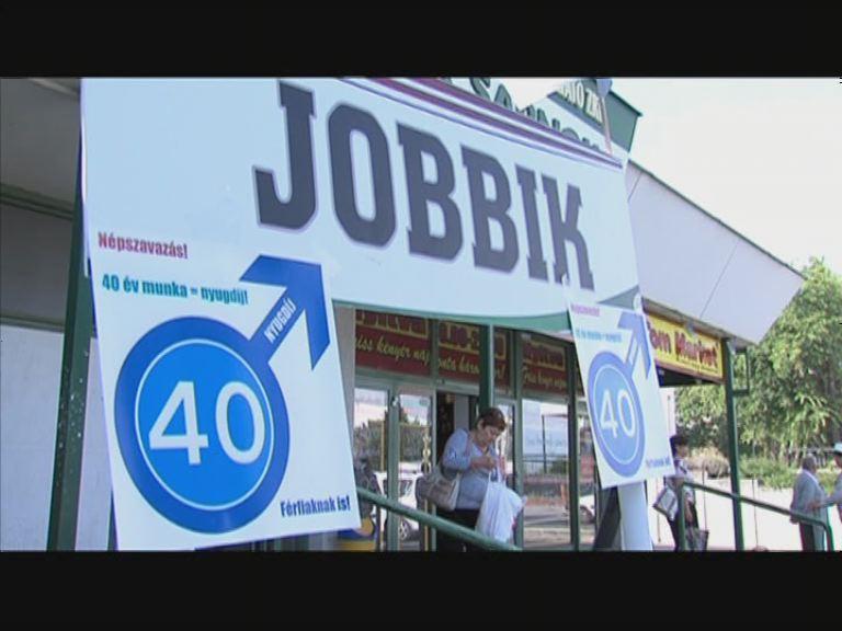 A Jobbik a férfiak 40+ programért