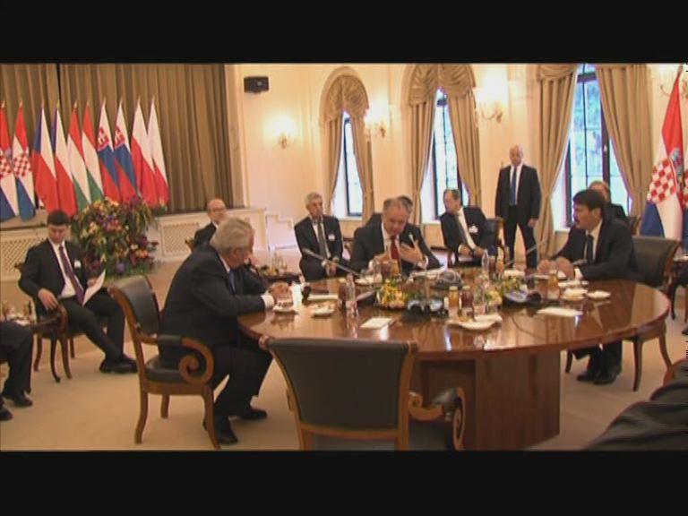 A V4 országok elnökei tanácskoznak Balatonfüreden