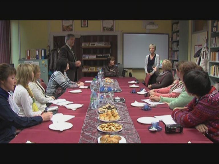 Udmurt tanárok Veszprémben