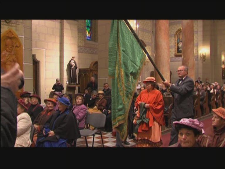 Zászlószentelés a Szent Mihály Székesegyházban