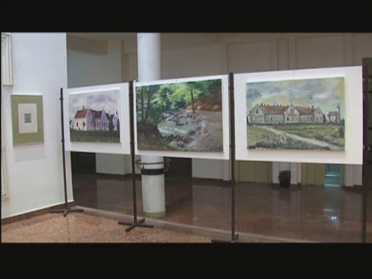 Grafikus és festő szakos tanulók kiállítása