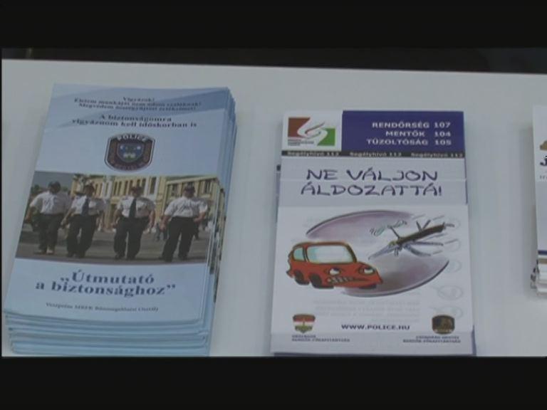 A Plázában is figyelnek a rendőrök