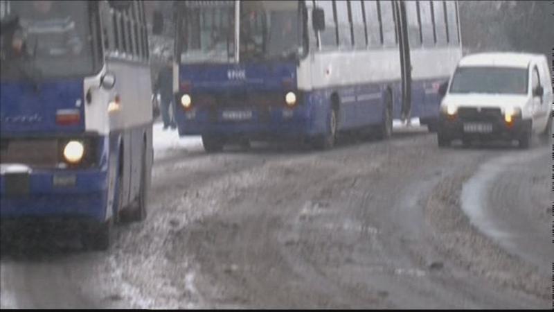 Megérkezett a havazás Veszprémbe