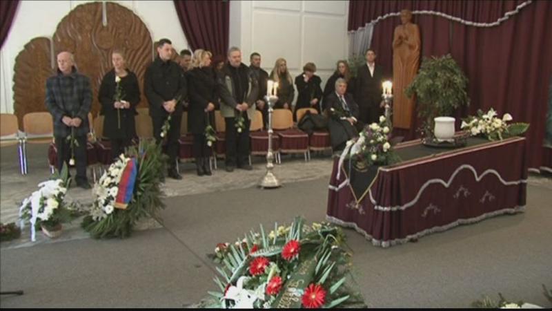 Donát Róbert temetése