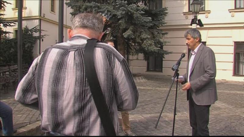Katanics Sándor sajtótájékoztató