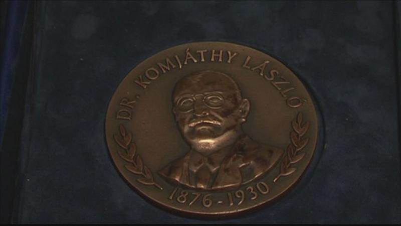 Komjáthy-díjat kaptak