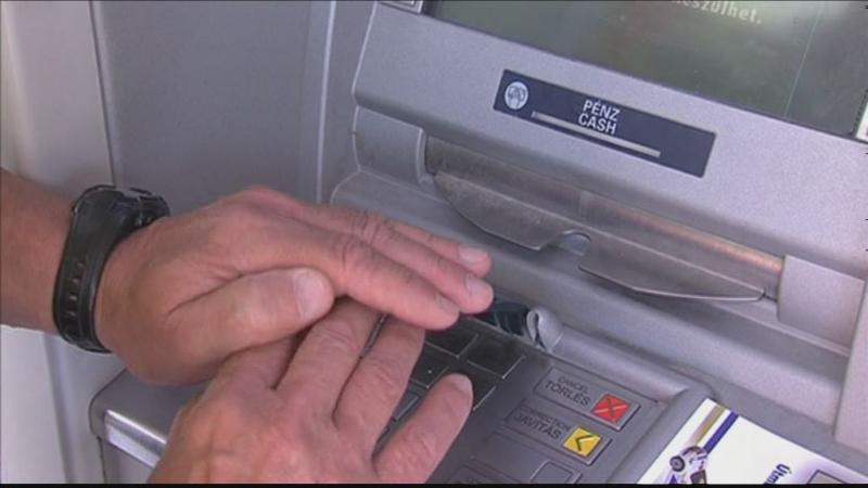 Biztonságos pénzfelvétel