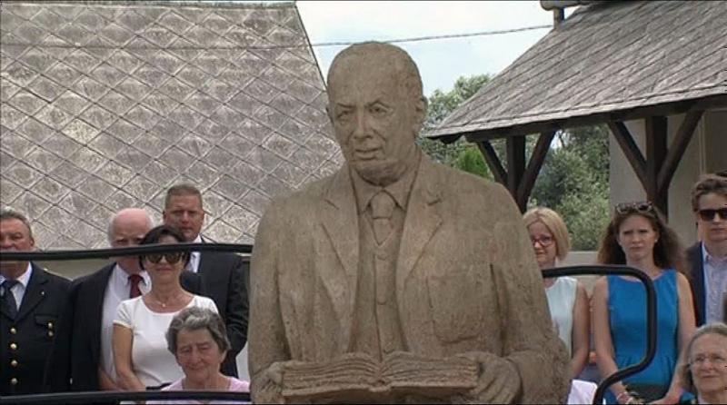Mádl szobor Bándon