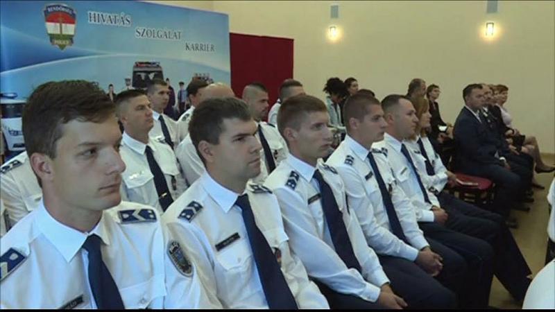 Rendőrök elismerése