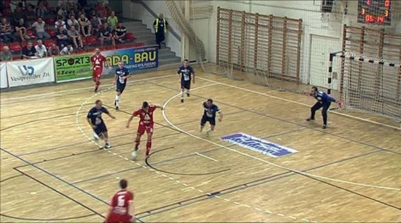 Futsal bajnoki rajt