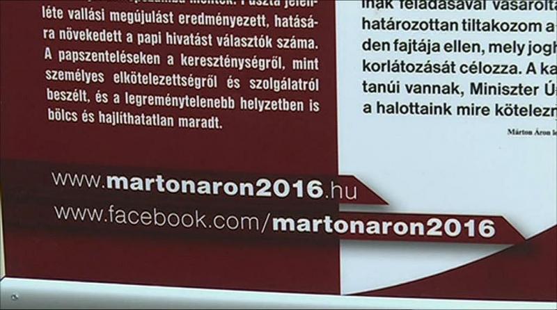 Márton Áron emlékkiállítás