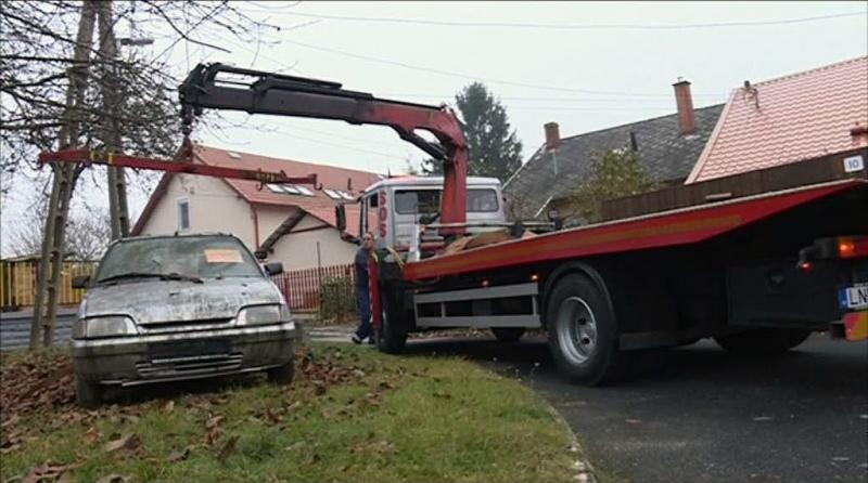 Elhagyott autók