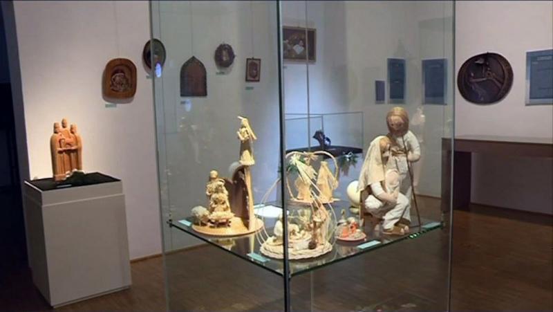 Betlehemi jászol kiállítás