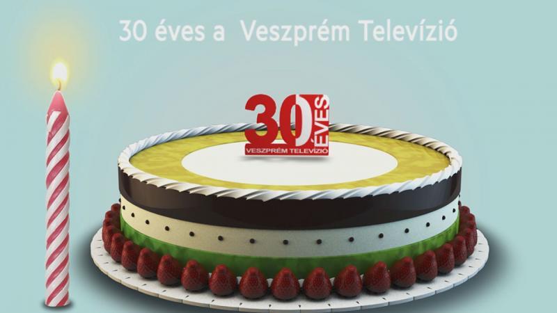30 éves a Veszprém Tv-válogatás a születésnapi műsorból