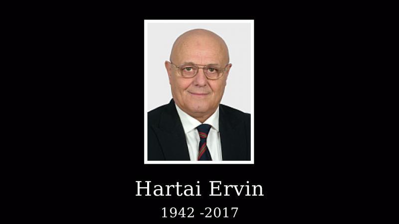 Elbúcsúztatták Hartai Ervint