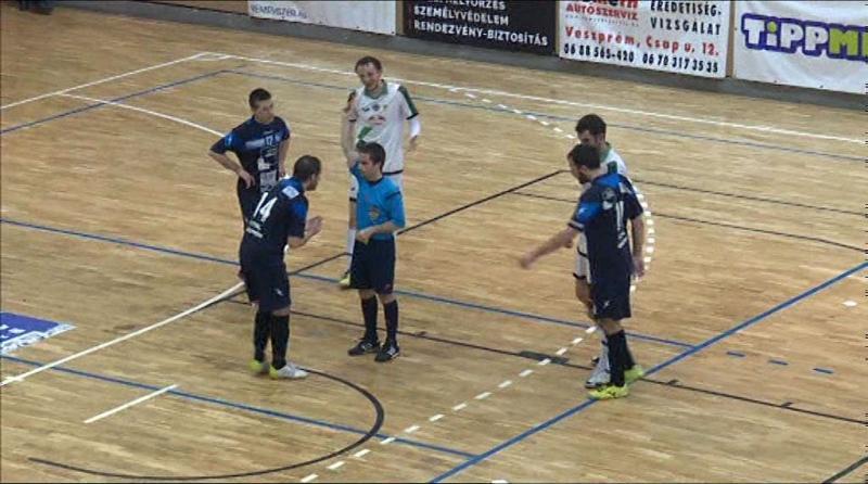 Futsal vereség a bajnoktól
