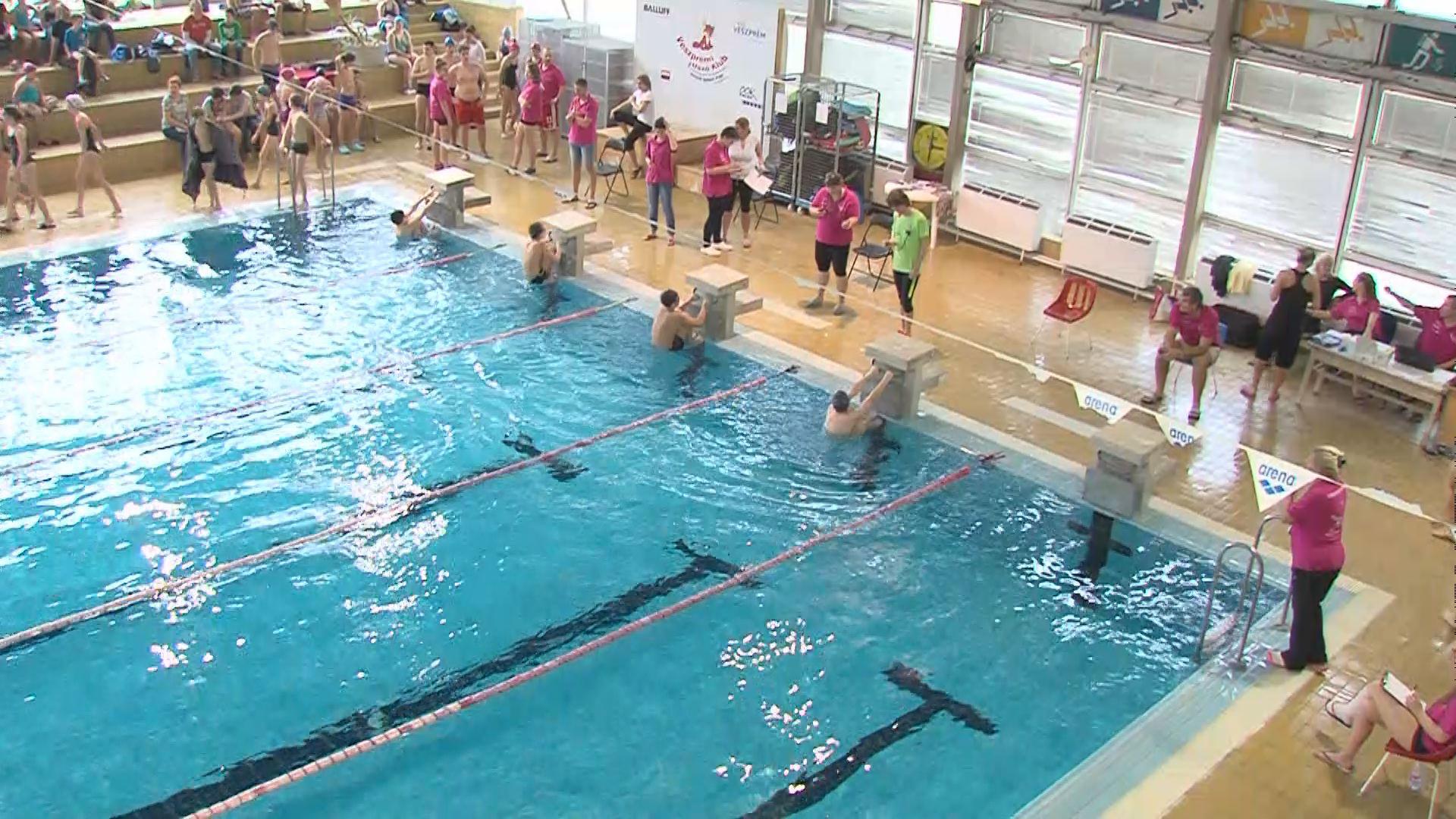 Úszók városi diák olimpiája