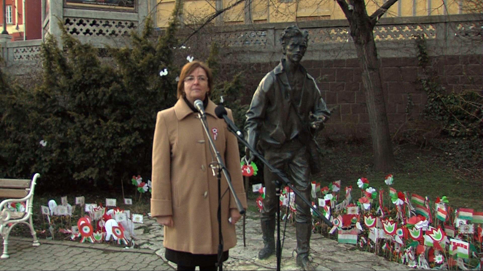 Jobbik ünnepség