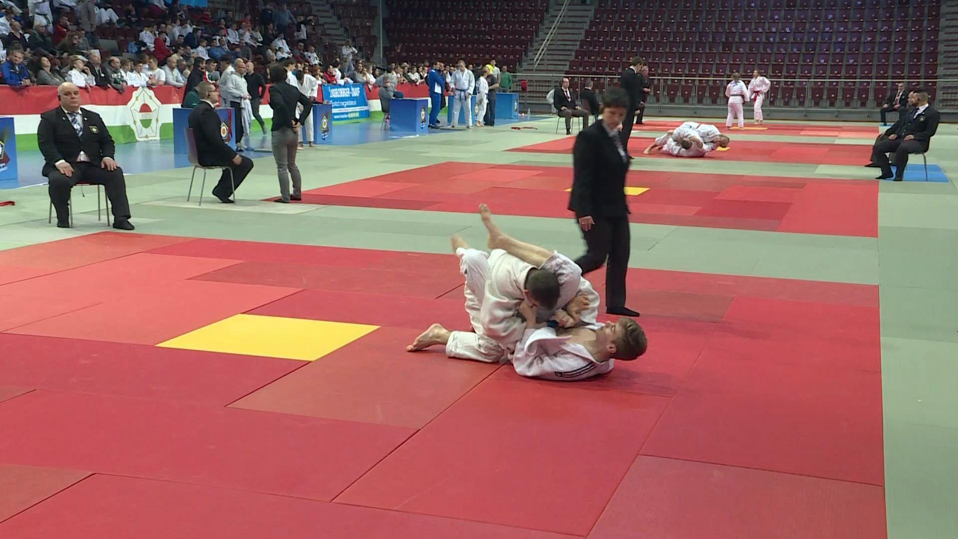 Judo éremeső a régiós versenyen