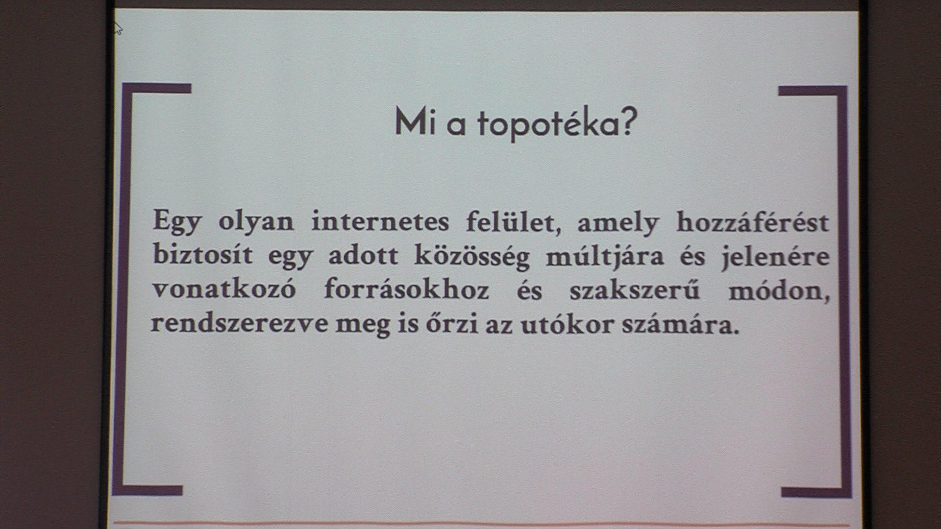 Veszprém Topotéka