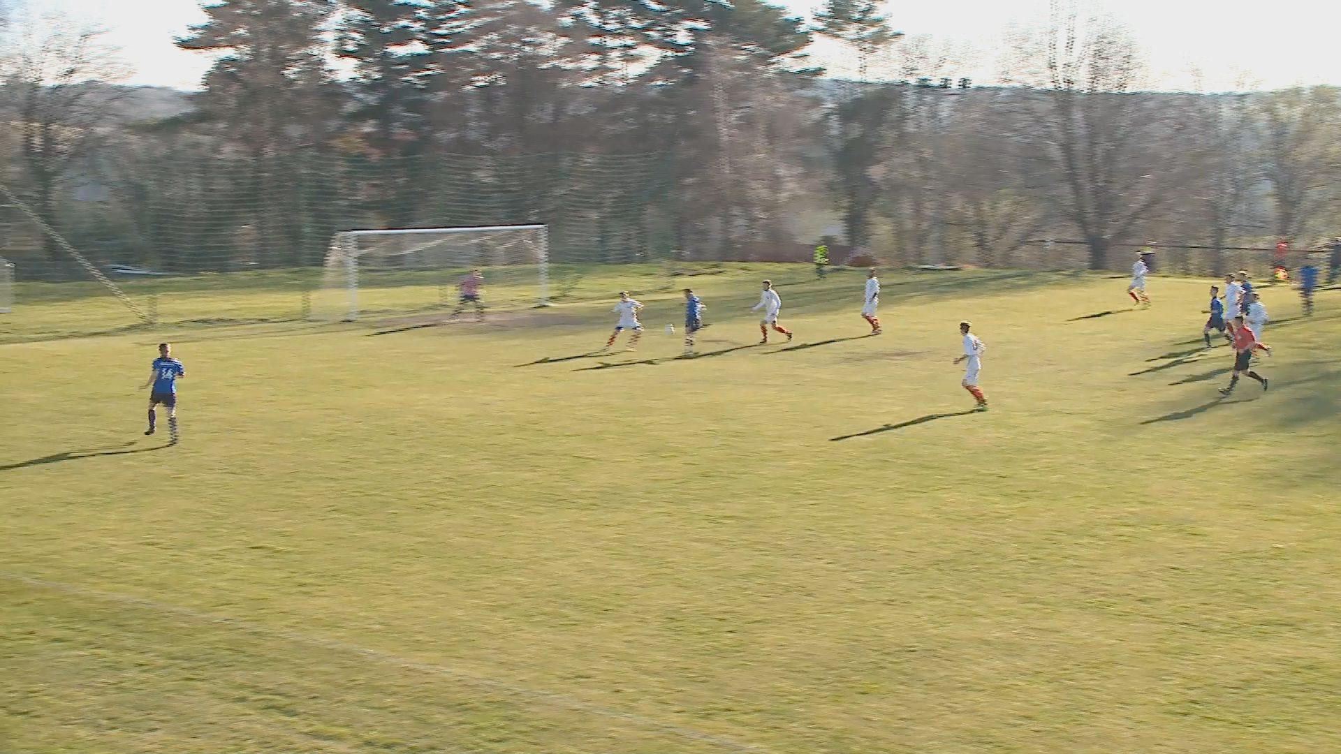Döntetlen az Úrkút –Kristály megyei futball rangadó
