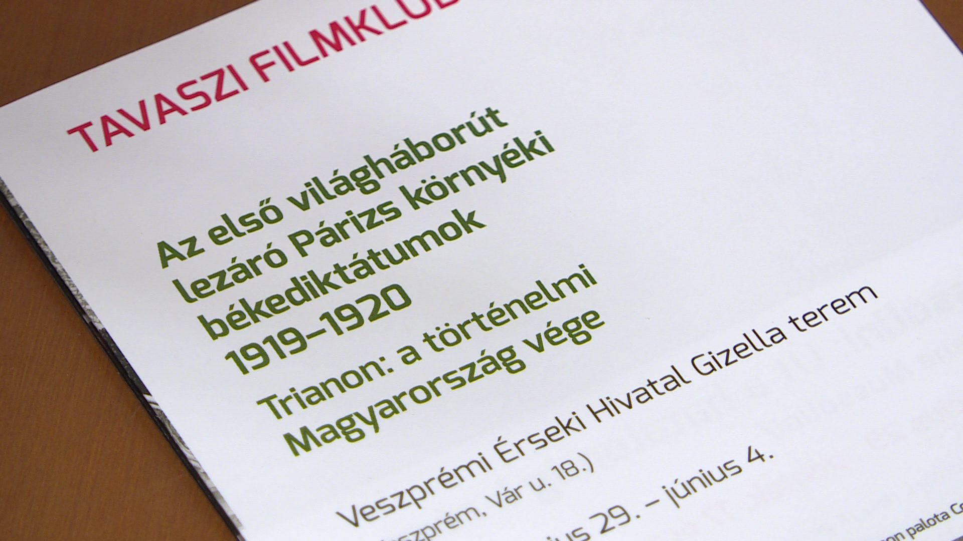 Tavaszi filmklub