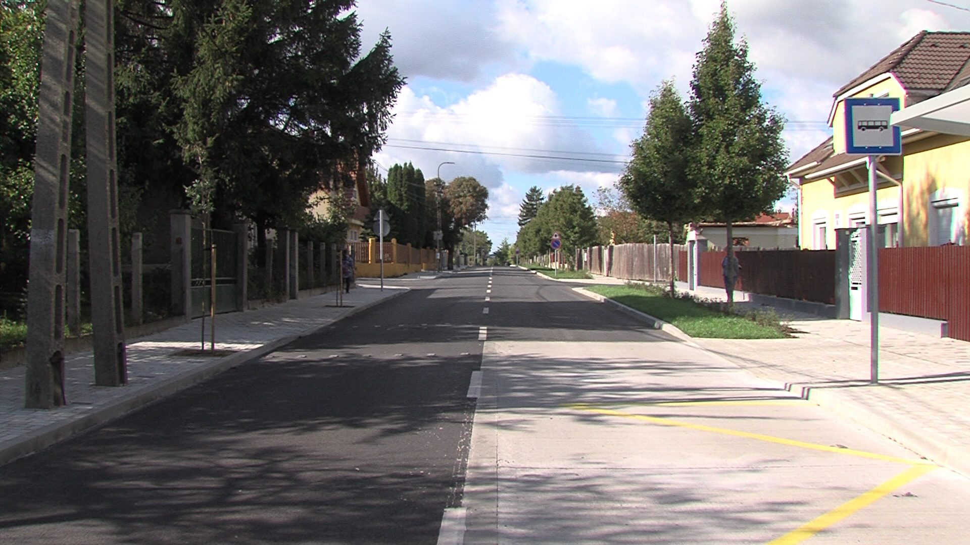 Megújult a Petőfi utca