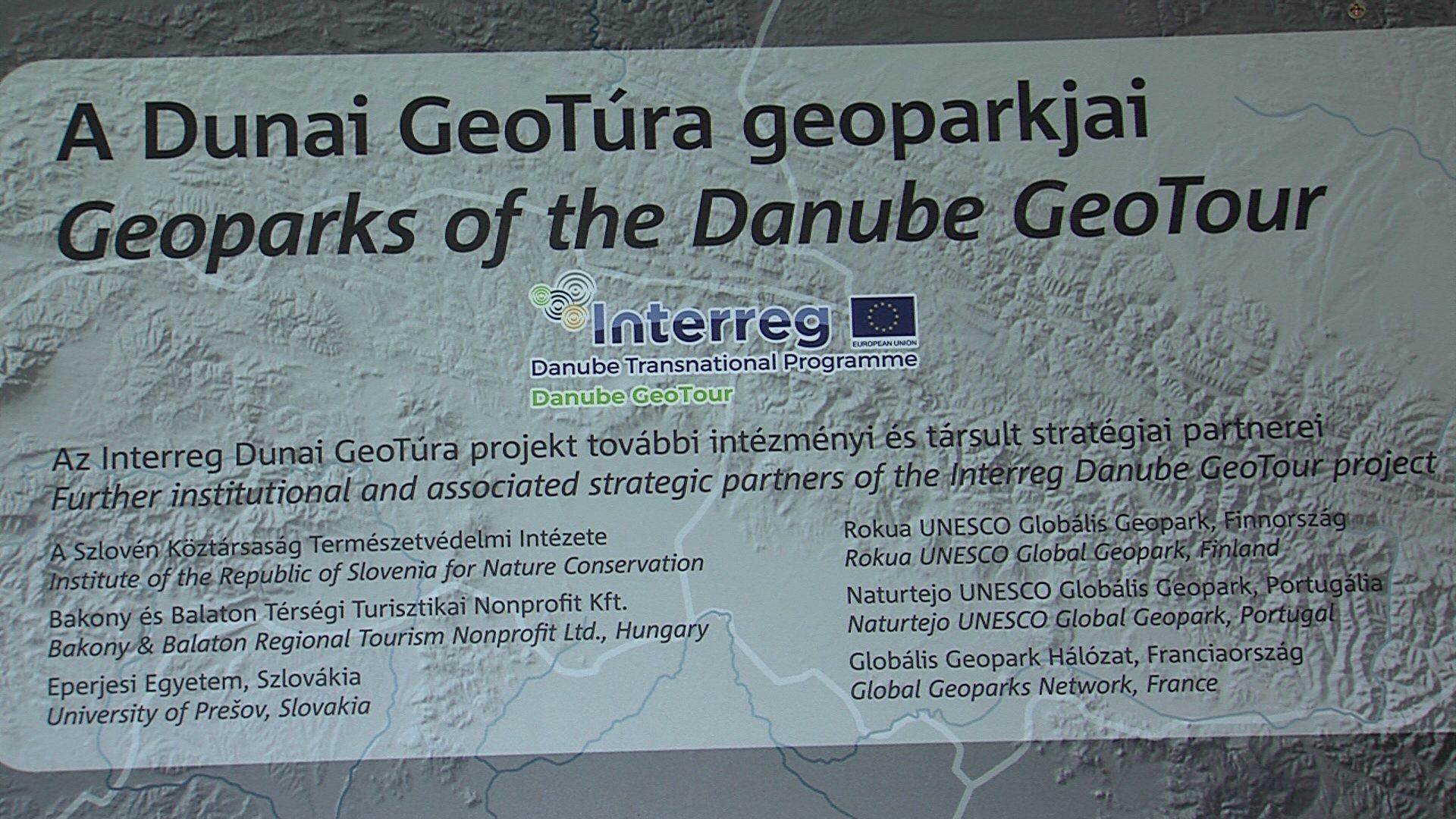 A geoparkokat népszerűsítették