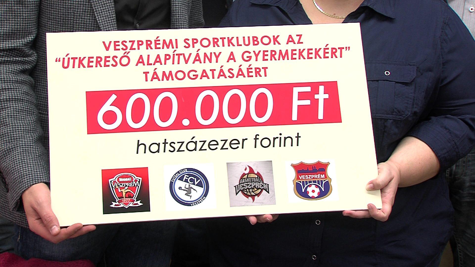 Sportklubok adománya