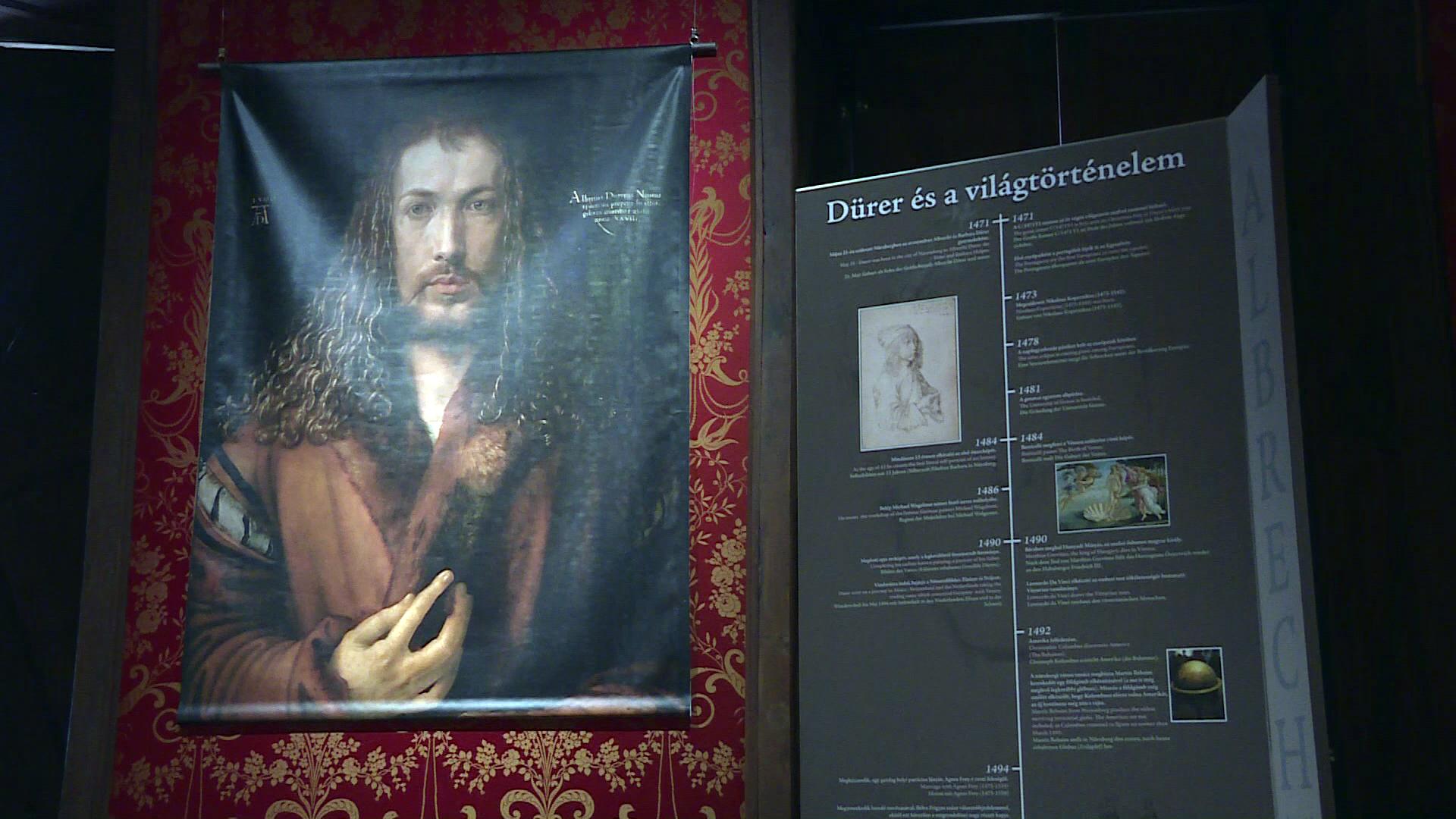 Dürer az Esterházy kastélyban