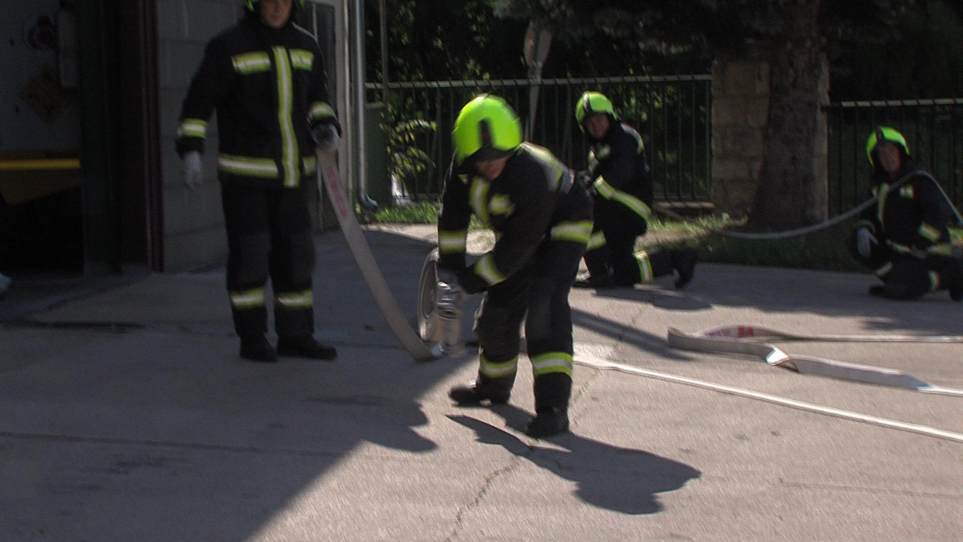 Új tűzoltók a megyében
