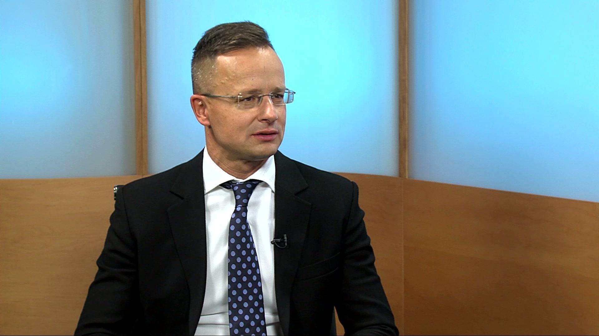 Exkluzív interjú Szijjártó Péter külügyminiszterrel