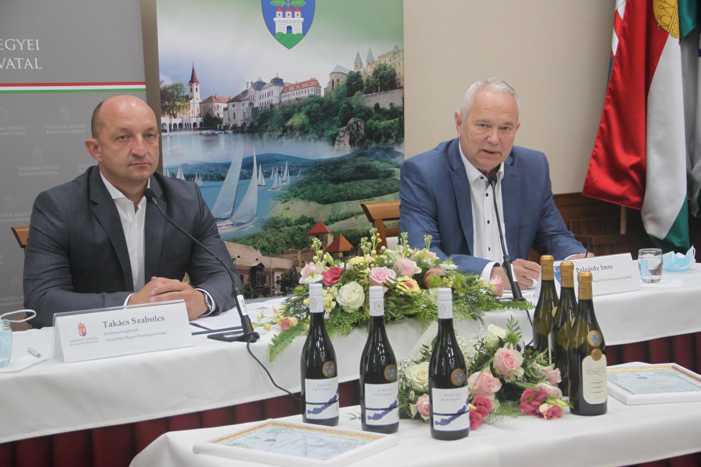 Veszprém megye bora 2021